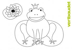 frosch malvorlage
