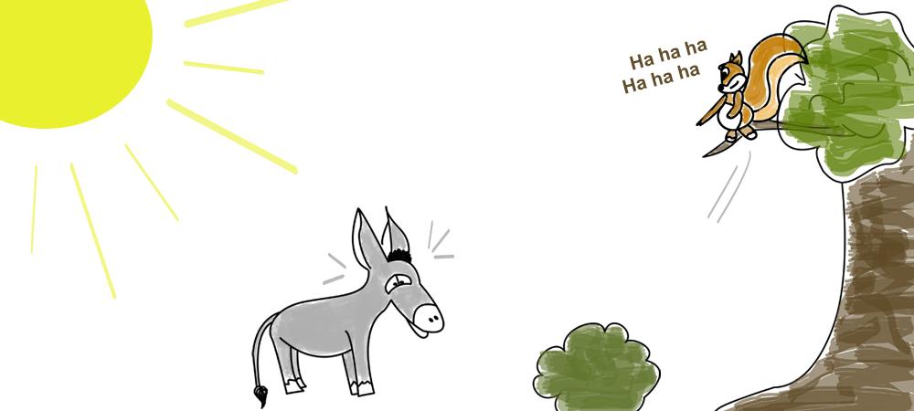 Filoú der kleine Zauberesel entdeckt die Welt