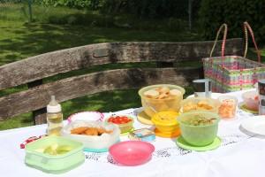 Picknick-Tisch - Vatertag