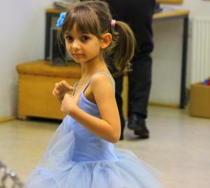 Beim Ballett