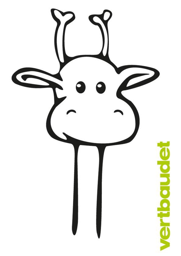 Malvorlage Giraffe › vertbaudet Blog - Ein Familien Blog für ...