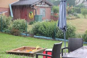 Regen - Ein Blick aus dem Fenster