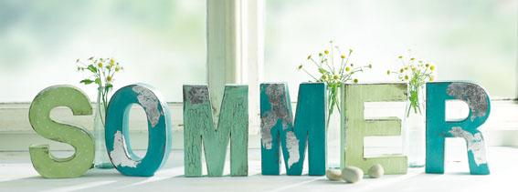 Buchstaben-Sommer