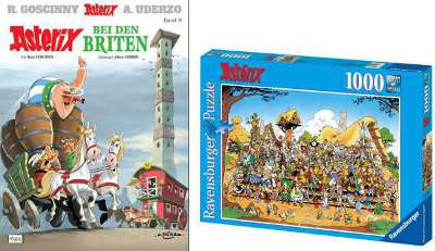 Fanpaket Asterix und Obelix - Im Auftrag Ihrer Majestät