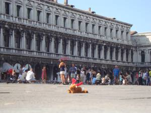 Palle on Tour in Venedig
