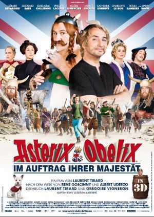 Filmplakat Asterix und Obelix - Im Auftrag Ihrer Majestät