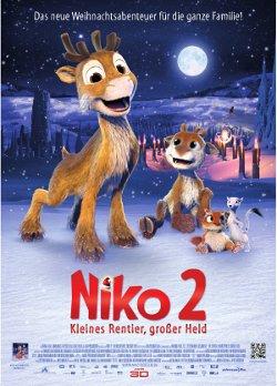 """Plakat """"Niko 2 - Kleines Rentier, großer Held"""""""