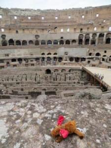 Palle im Kolosseum