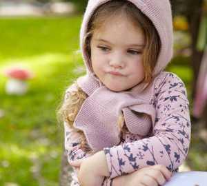 schmollendes Kind in der Trotzphase
