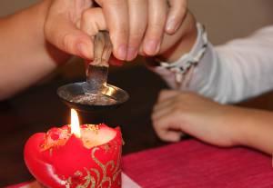 Bleigießen und gute Vorsätze an Silvester