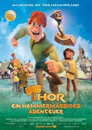 """Filmplakat """"THOR - Ein hammermaessiges Abenteuer"""""""