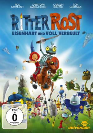 """DVD zum Familienfilm """"Ritter Rost - Eisenhart und voll verbeult"""""""