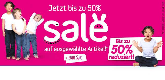50 % Rabatt auf die aktuelle Frühjahr-Sommer-Kollektion 2013