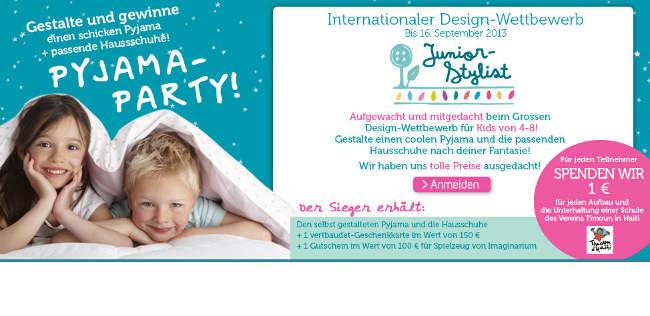 Macht mit beim neuen Junior Stylist Wettbewerb für Kinder!