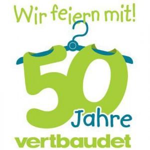 Logo 50 Jahre Vertbaudet - Wir feiern mit!