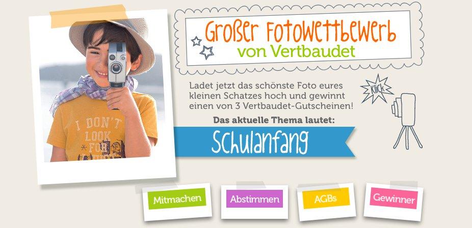 Macht mit beim Fotowettbewerb Schulanfang!