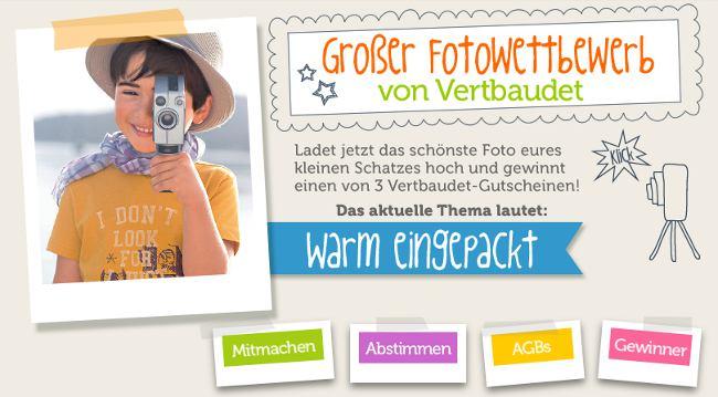 Wieder tolle Preise beim Vertbaudet Fotowettbewerb zu gewinnen!