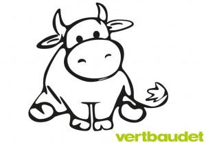 Malvorlage Kuh zum Ausmalen