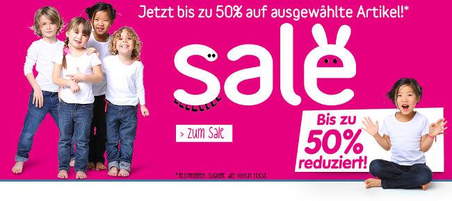 Sale bei vertbaudet - bis zu 50% reduziert