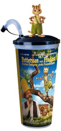 """Trinkbecher mit """"Petterson und Findus""""-Motiv"""