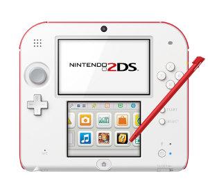Künstlerisch gestaltete Konsole Nintendo 2DS