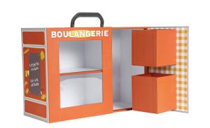Aufbewahrungsbox Bäckerei für Kinder