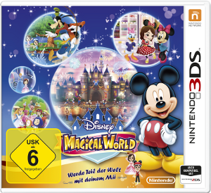 "Cover des Nintendo-Spiels ""Disney - Magical World"""