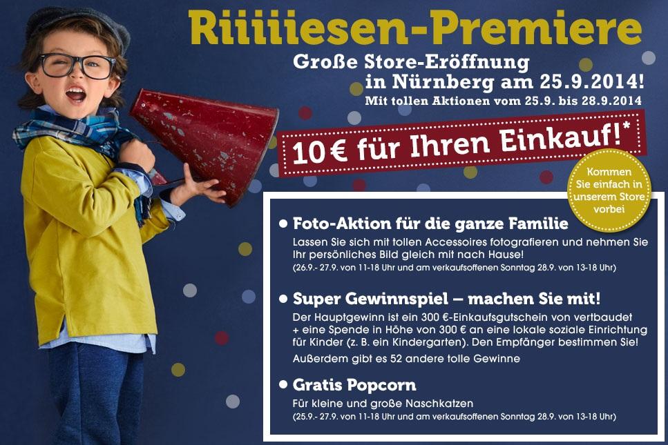 Store-Eröffnung am 25.09.2014 in Nürnberg