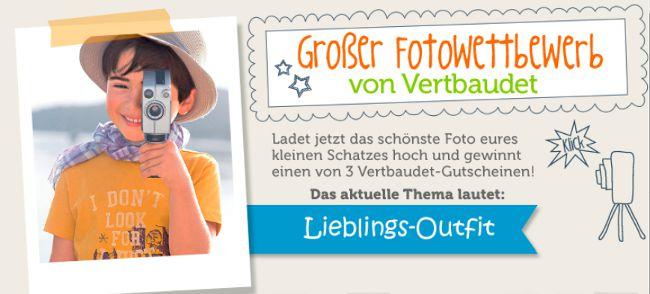 vertbaudet Fotowettbewerb zum Thema Libelings-Outfits