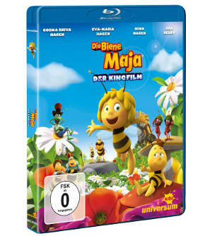 "Blu-ray zum Kinderfilm ""Die Biene Maja - Der Kinofilm"""