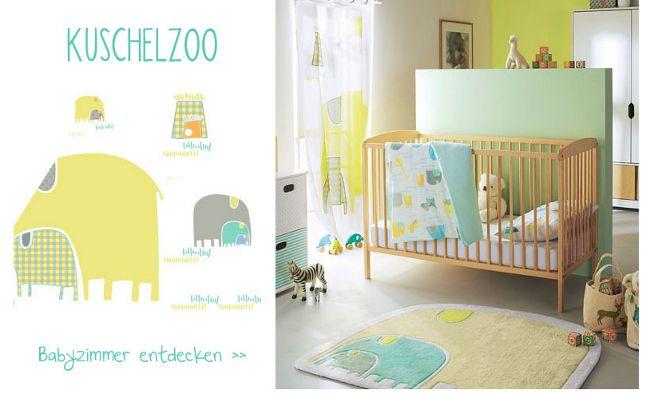 Babyzimmer mit bunter Zoo-Deko
