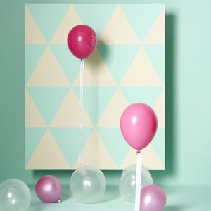 Luftballons als Geburtstagsdeko