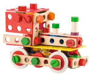 Zusammengebaute Lokomotive von Baufix