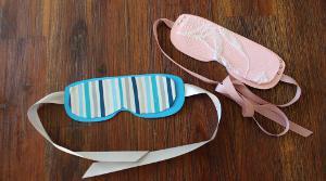 lustige Schlafmasken Einladungen für Kinder
