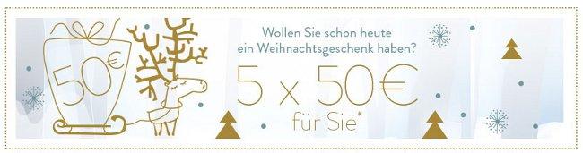 vertbaudet Adventskalender mit Chance auf 5x 50 Euro Einkaufsgutschein