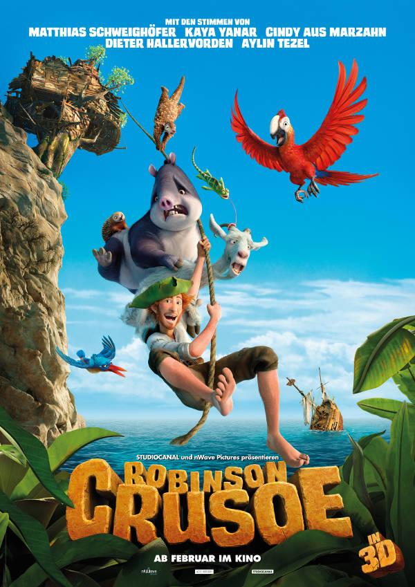 """Robinson Crusoe""-Gewinnspiel zum Kinostart am 4.2.2016"