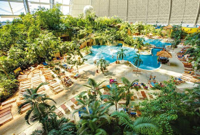 tropischer Freizeitpark
