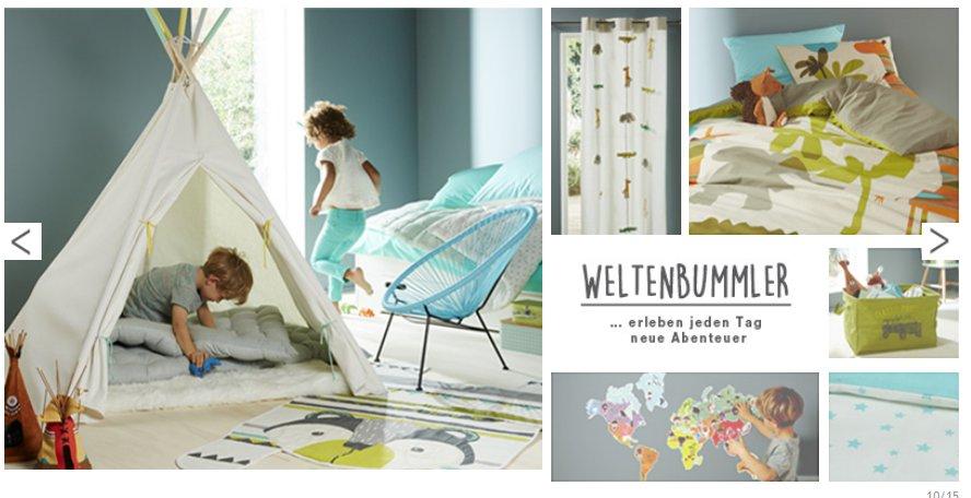 Kinderzimmer-Ideen für Weltenbummler