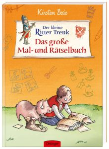 """Cover zu """"Der kleine Ritter Trenk - Das groß Mal- und Rätselbuch"""""""