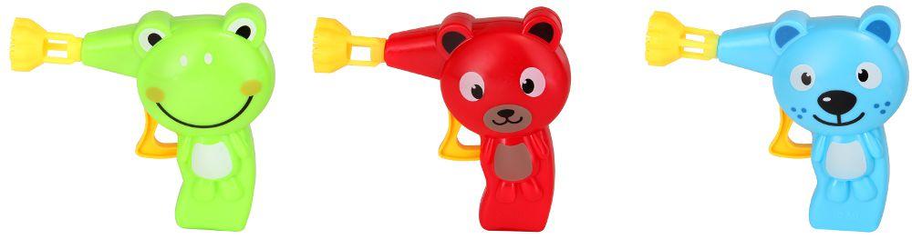 Seifenblasen-Pistolen in Tierform