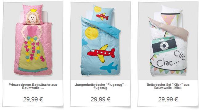 Kinderbettwäsche aus der Junior Stylist-Kollektion von vertbaudet