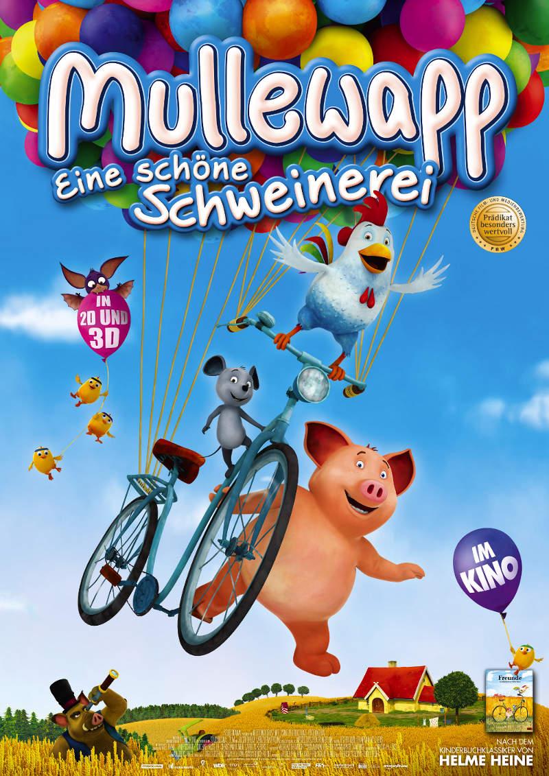 """Tolles Gewinnspiel zu """"Mullewapp – Eine schöne Schweinerei"""" (Kinostart: 14.07.2016)"""