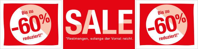 Sale-Banner mit -60%