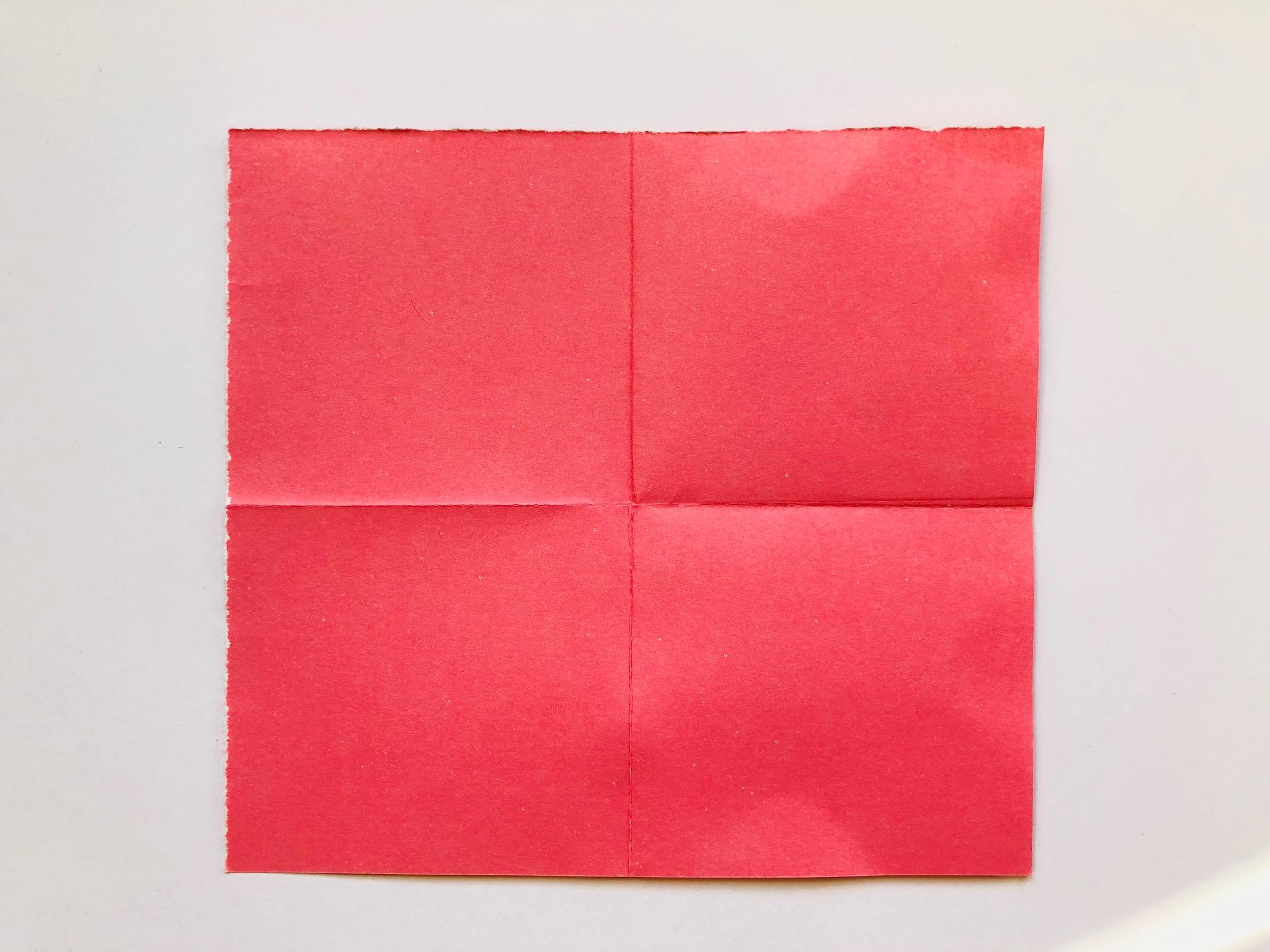 Exquisit Lesezeichen Basteln Aus Papier Sammlung Von 2. Daraufhin Eines Der Dabei Entstanden Quadrate