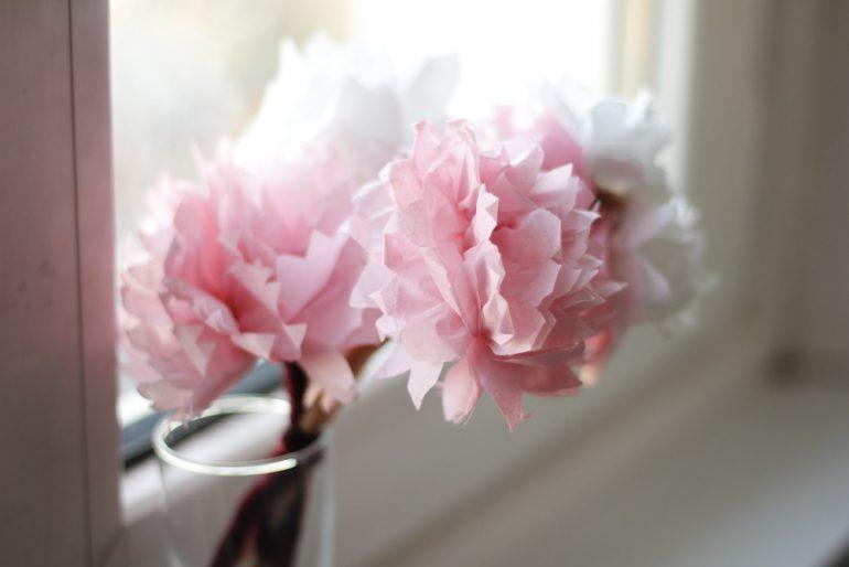 Diy Bastelanleitung Für Schöne Papierblumen Vertbaudet