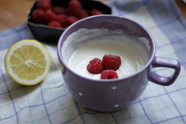 Französisch Kochen Fromage Blanc Dessert Vertbaudet Blog Ein